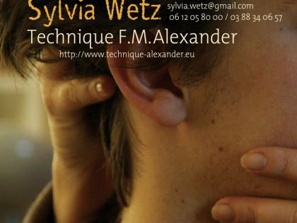 Sylvia Wetz / Technique F.M Alexander