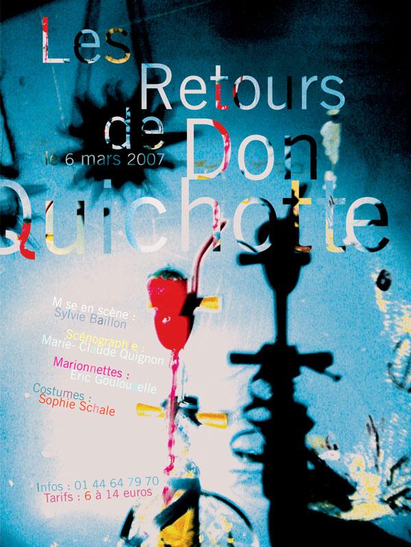 Les Retours de Don Quichotte / Théâtre d'objets